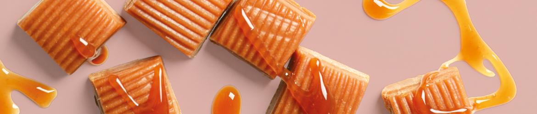 Spécialités à base de noix ou noisettes fabriquées par les producteurs de la coopérative Unicoque.